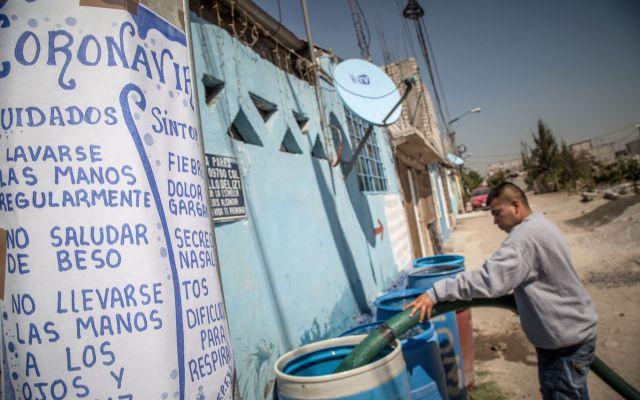 Vecinos denuncian escasez de agua en Iztapalapa, Tláhuac y Xochimilco - Foto de El País