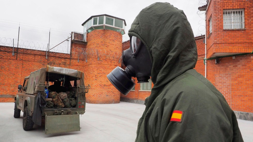 Ligero repunte de muertes por COVID-19 en España; suman 21 mil 282 decesos - España muertos coronavirus COVID-19
