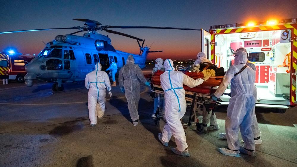 Muertes por pandemia superan los 5.300 en Francia