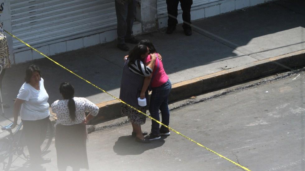 Junio, el cuarto mes más violento del año con 80.4 víctimas de homicidio diarias - Homicidio de automovilista en la Ciudad de México el pasado 20 de abril. Foto de Notimex