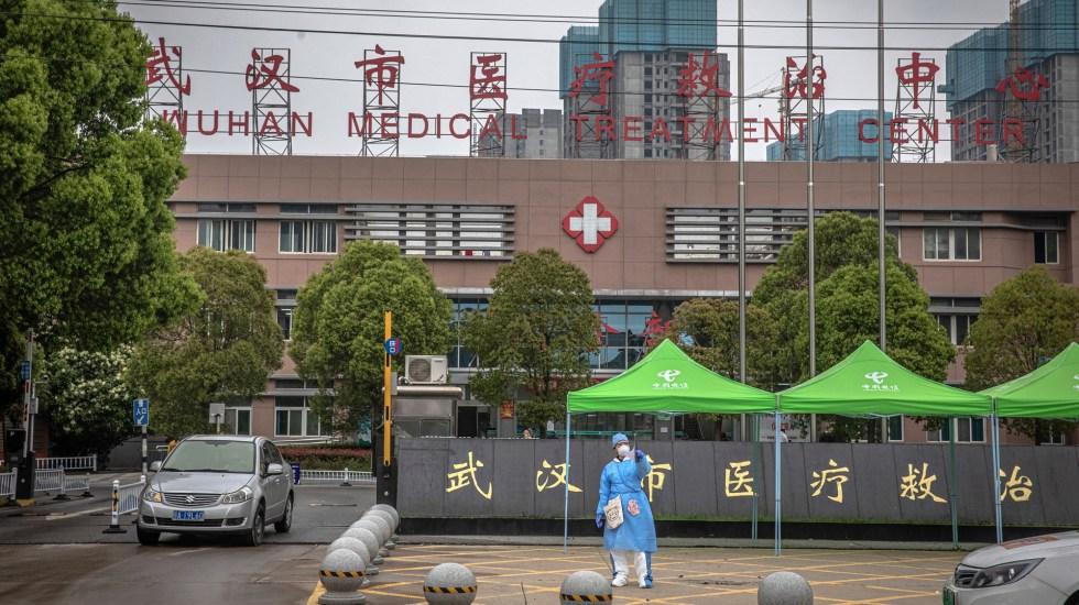 Baja en China número de pacientes graves por COVID-19 - Hospital de Wuhan, China. Foto de EFE