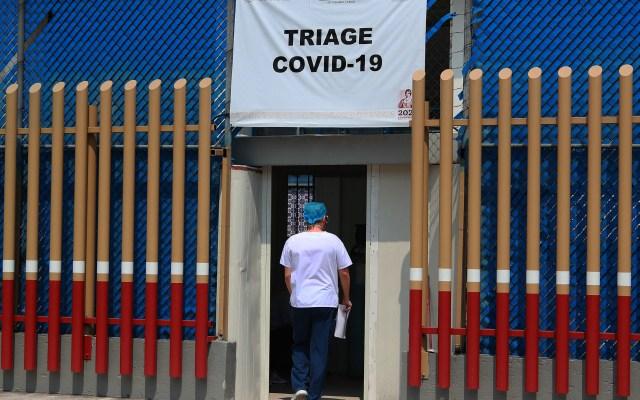 Seis hospitales COVID-19 ya no tienen disponibilidad en el Valle de México - Foto de Notimex