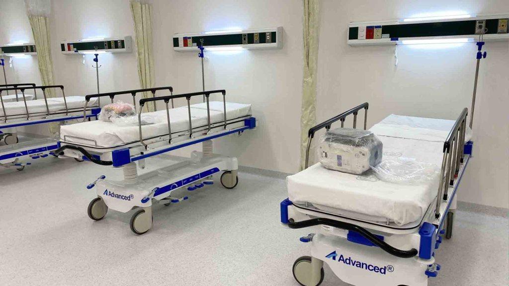 Gobernadores del PAN urgen acciones para evitar colapso de sistemas de salud - Infraestructura hospitalaria IMSS-INSABI, en el Hospital General de Zona No. 32