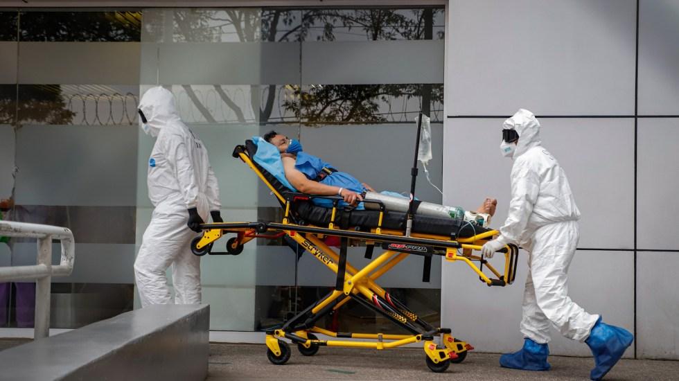 Hospitales privados de la Ciudad de México, saturados de pacientes con COVID-19 - Foto de Notimex