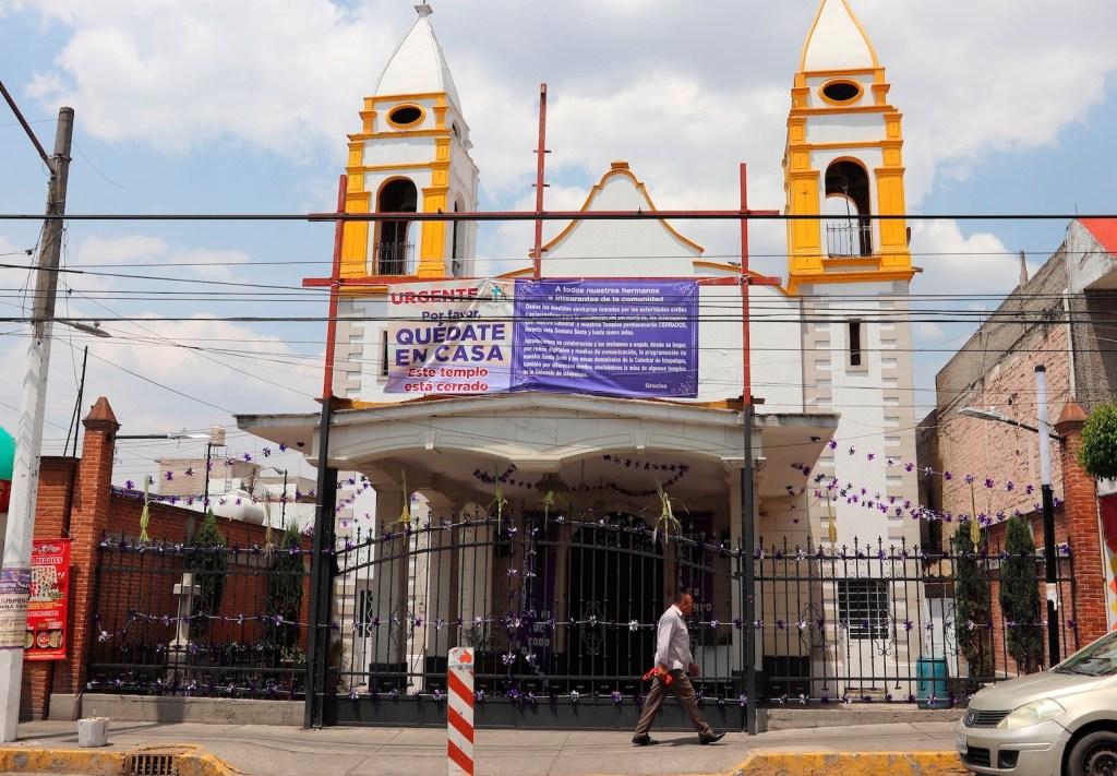 Iglesia católica pide a fieles permanecer en casa - Foto de EFE