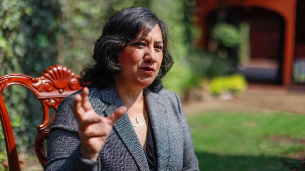 Irma Eréndira Sandoval no ha recibido inmueble como regalo o donación de político: SFP - Foto de Notimex