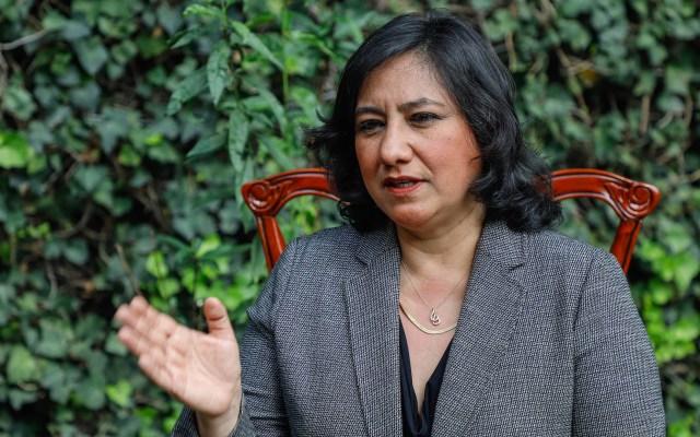 Irma Eréndira Sandoval da positivo a COVID-19 - Irma Eréndira Sandoval, secretaria de la Función Pública. Fotos de Notimex-Isaac Esquivel