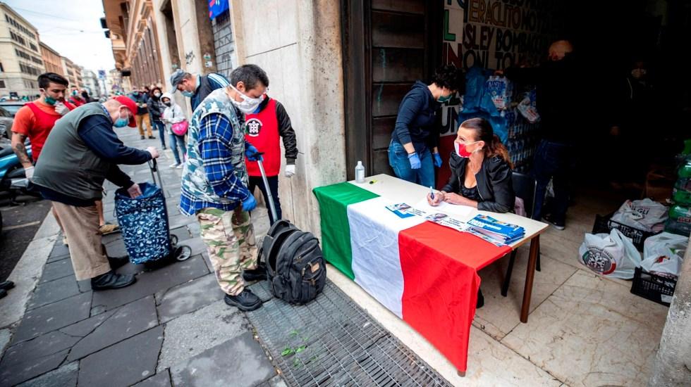 Italia prevé comenzar plan de reapertura a partir del 4 de mayo - italia coronavirus COVID-19
