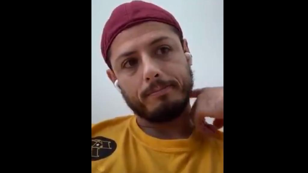 """#Video """"Chicharito"""" Hernández se despide entre lágrimas de su abuelo - Javier Hernández despedida abuelo Tomás Balcazar"""