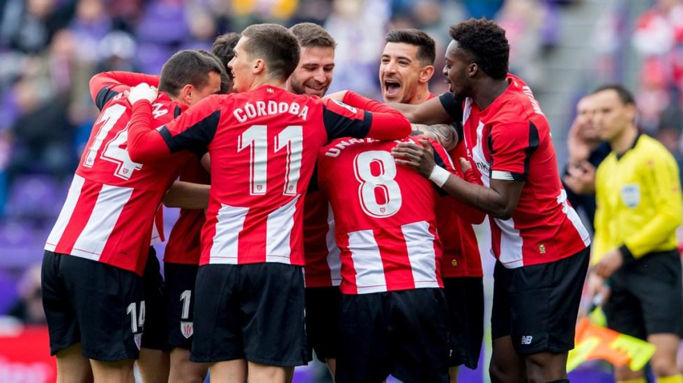 Jugadores del Athletic de Bilbao reducen su salario por crisis del COVID-19 - Jugadores del Athletic de Bilbao. Foto de @Athletic_en