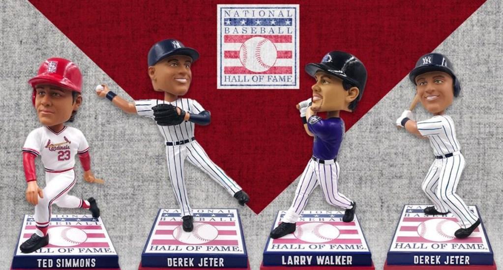 Cancelan ceremonia 2020 de nuevos miembros del Salón de la Fama de Beisbol - Jugadores elegidos para el Salón de la Fama de Beisbol. Foto de @baseballhall