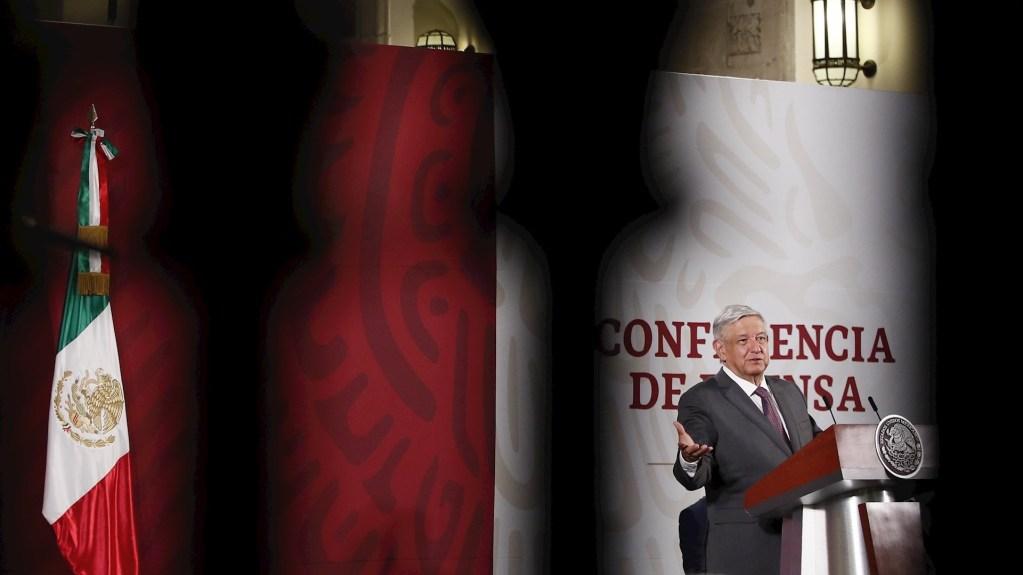 COVID-19 ha expuesto nuevas y peligrosas debilidades de AMLO, asegura Financial Times - El presidente López Obrador. Foto de EFE/José Méndez.