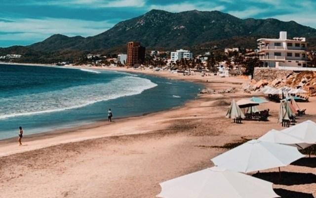 Colima se une a cierre de playas durante emergencia sanitaria - Manzanillo, Colima. Foto de @revistapalmera