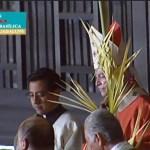 Misa de Domingo de Ramos del Cardenal Carlos Aguiar Retes desde la Basílica de Guadalupe