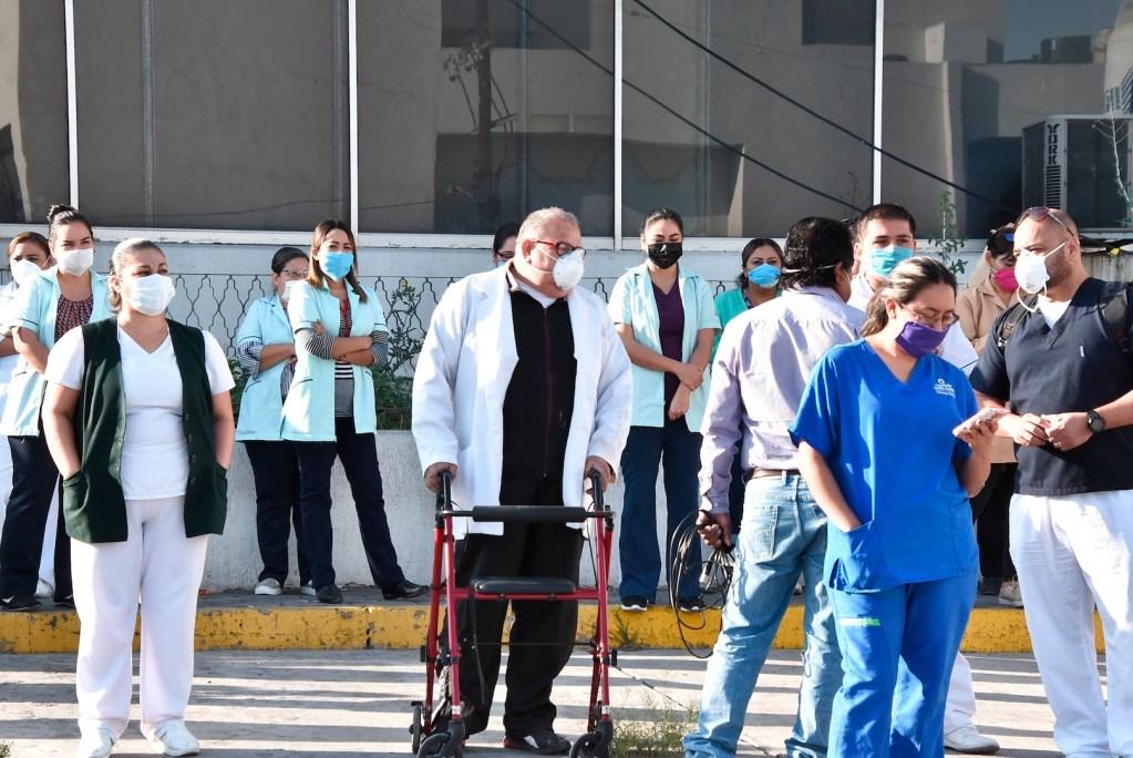COVID-19 retrasa tratamiento de hemodiálisis en Monclova - Foto de EFE