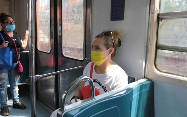 Inicia uso obligatorio de cubrebocas en Metro de la Ciudad de México - Este viernes inició el uso obligatorio de cubrebocas en el Metro capitalino, para prevenir contagios de coronavirus. Foto de Notimex