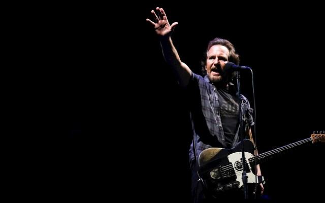 Pearl Jam estrenará película 'Gigaton Visual Experience' en televisión - Pearl Jam Eddie Vedder