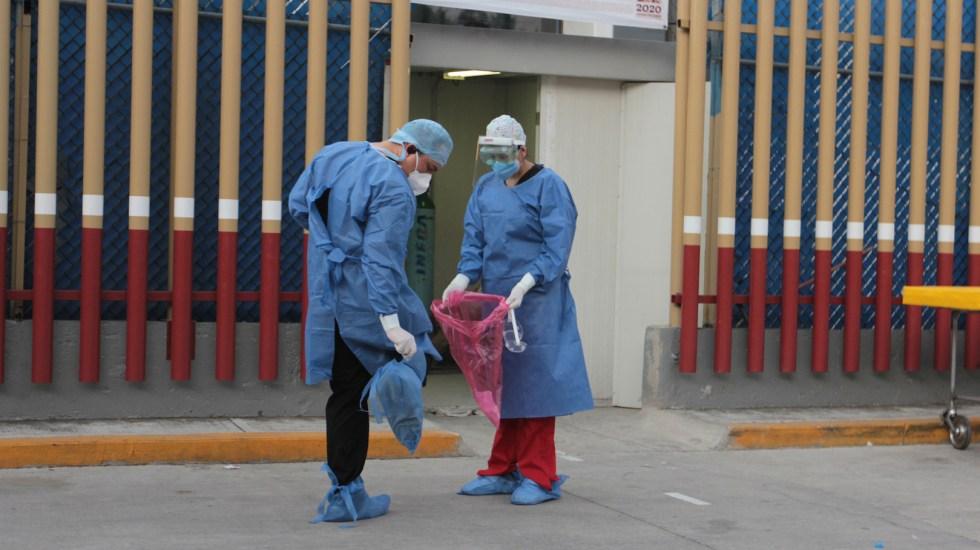 #Video El homenaje a personal médico en Palacio Nacional - Foto de Notimex