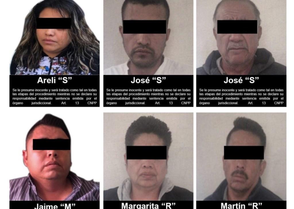 Vinculan a proceso a seis presuntos secuestradores - Foto de FGR
