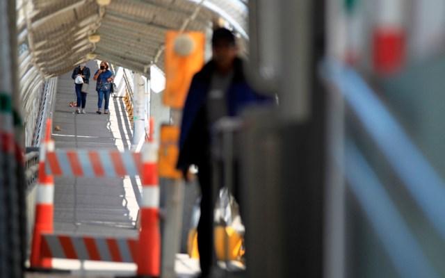 COVID-19 pone en jaque a la frontera de Estados Unidos con México - Foto de EFE