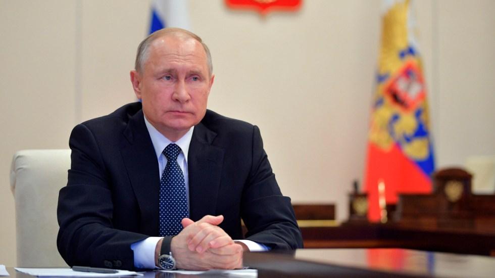 Putin felicitará al nuevo presidente de Estados Unidos cuando haya resultados oficiales - El presidente de Rusia y el de Estados Unidos firmaron este sábado una declaración conjunta en el 75 aniversario del encuentro de los ejércitos aliados en el río Elba
