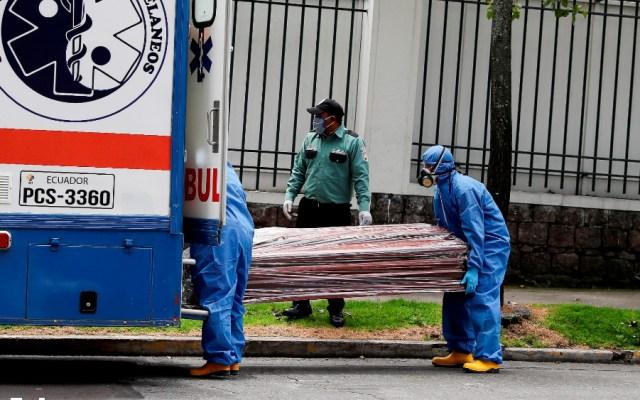 Ecuador registra 507 muertos y 10 mil 128 positivos por COVID-19 - Foto de EFE