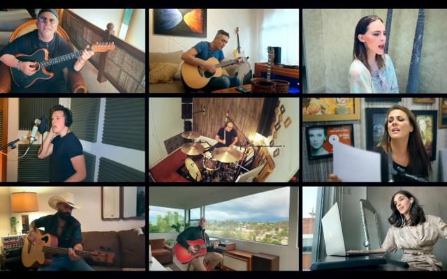 Estrellas mexicanas cantan 'Resistiré' ante COVID-19 - Resistiré México coronavirus COVID-19