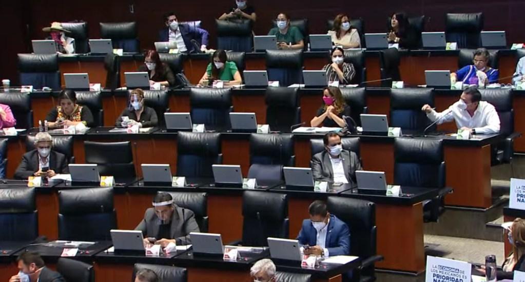 Senado buscará periodo extraordinario para sesiones a distancia por pandemia de COVID-19 - Sesión ordinaria en el Senado de la República este 20 de abril