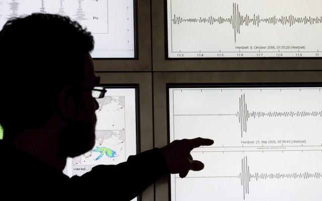 Sismo de magnitud 5.2 al suroeste de Baja California - Sismo temblor movimiento telúrico sismógrafo