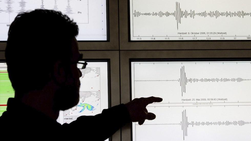 Se registran dos micro sismos con epicentro en Iztacalco; descartan afectaciones - Sismo temblor movimiento telúrico sismógrafo