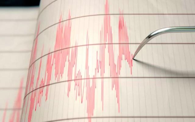 Sismo de magnitud preliminar 5.7 sacude sur de Chiapas - Sismógrafo. Foto de El Financiero