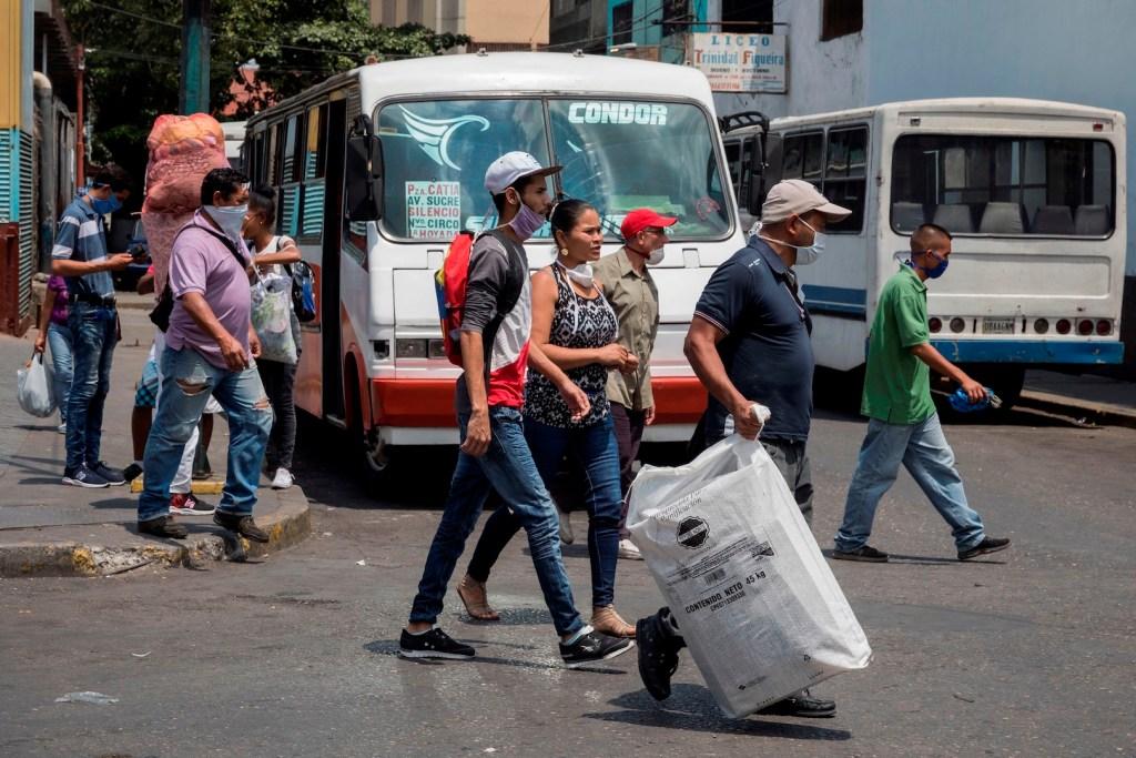 ONU envía 90 toneladas de productos para combatir al COVID-19 en Venezuela - Foto de EFE