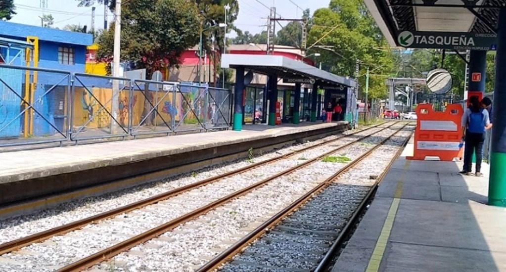Tren Ligero cerrará de Huipulco a Xochimilco durante ocho meses por mantenimiento - A partir del 2 de mayo y hasta el 31 de diciembre de este año, permanecerá cerrado el tramo que componen las estaciones Huipulco-Xochimilco del Tren Ligero
