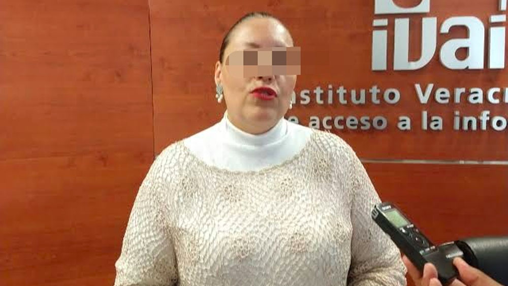 Vinculan a proceso en Veracruz a extitular del IVAI - Vinculan a proceso en Veracruz a extitular del IVAI