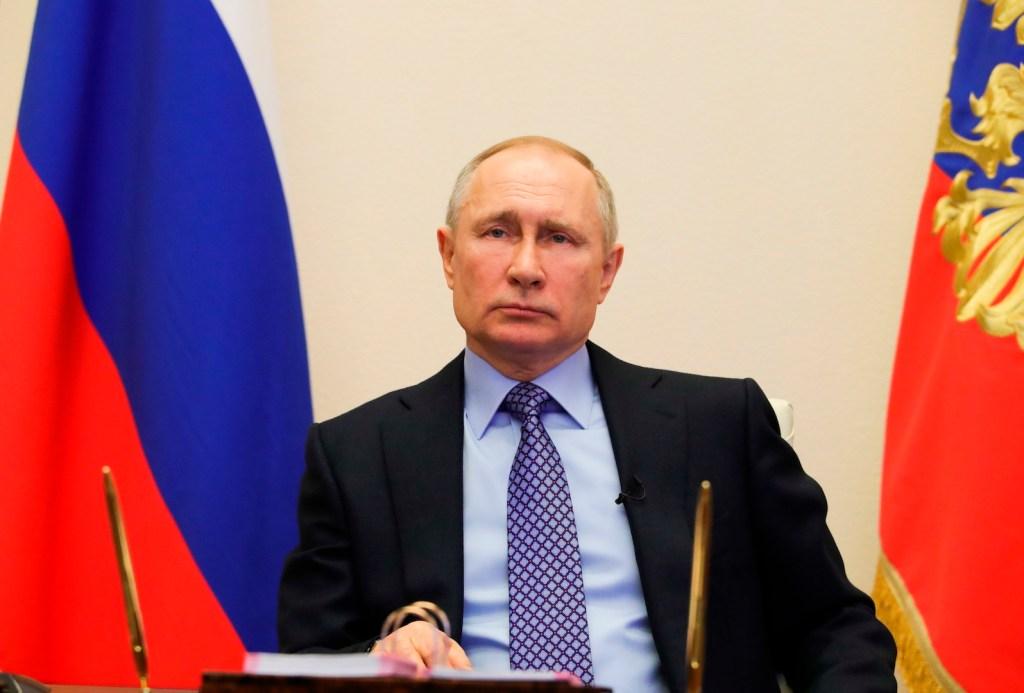 Putin declara no laborables todos los días hasta el 30 de abril por COVID-19 - Foto de EFE