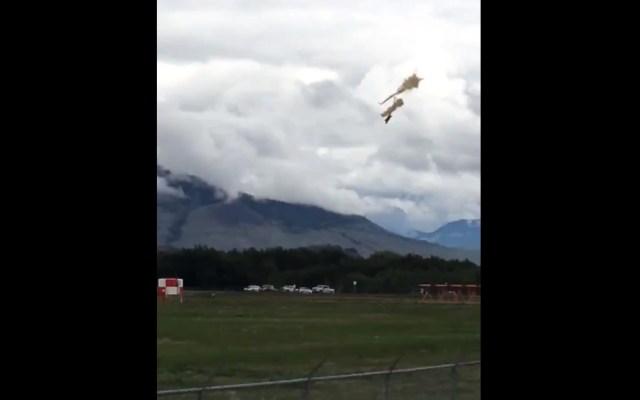 #Video Accidente aéreo en Canadá deja al menos un muerto - Accidente avión Canadá