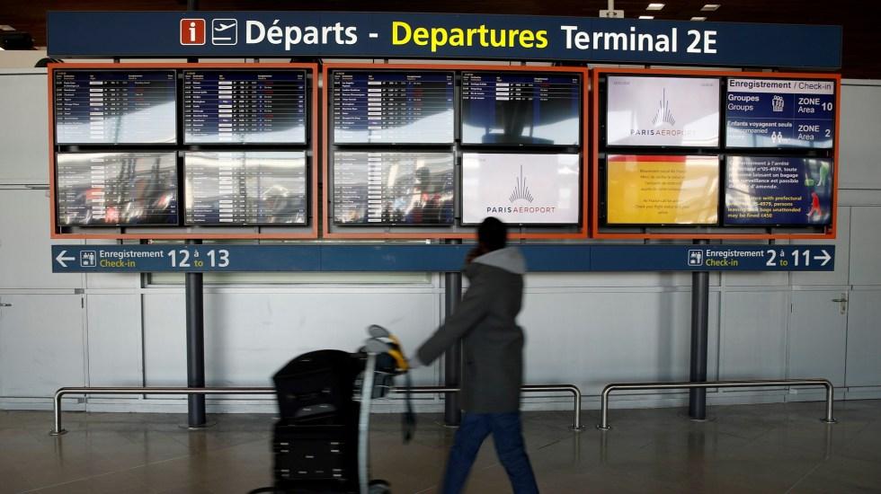 Francia impondrá cuarentena a viajeros procedentes de Reino Unido - Aeropuerto de Charles de Gaulle, en Roissy, cerca de París, Francia. Foto de EFE