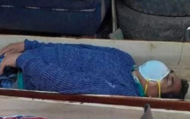 Alcalde en Perú finge estar muerto dentro de ataúd para evitar su detención - Alcalde de Perú finge estar muerto por COVID-19 para no ser detenido