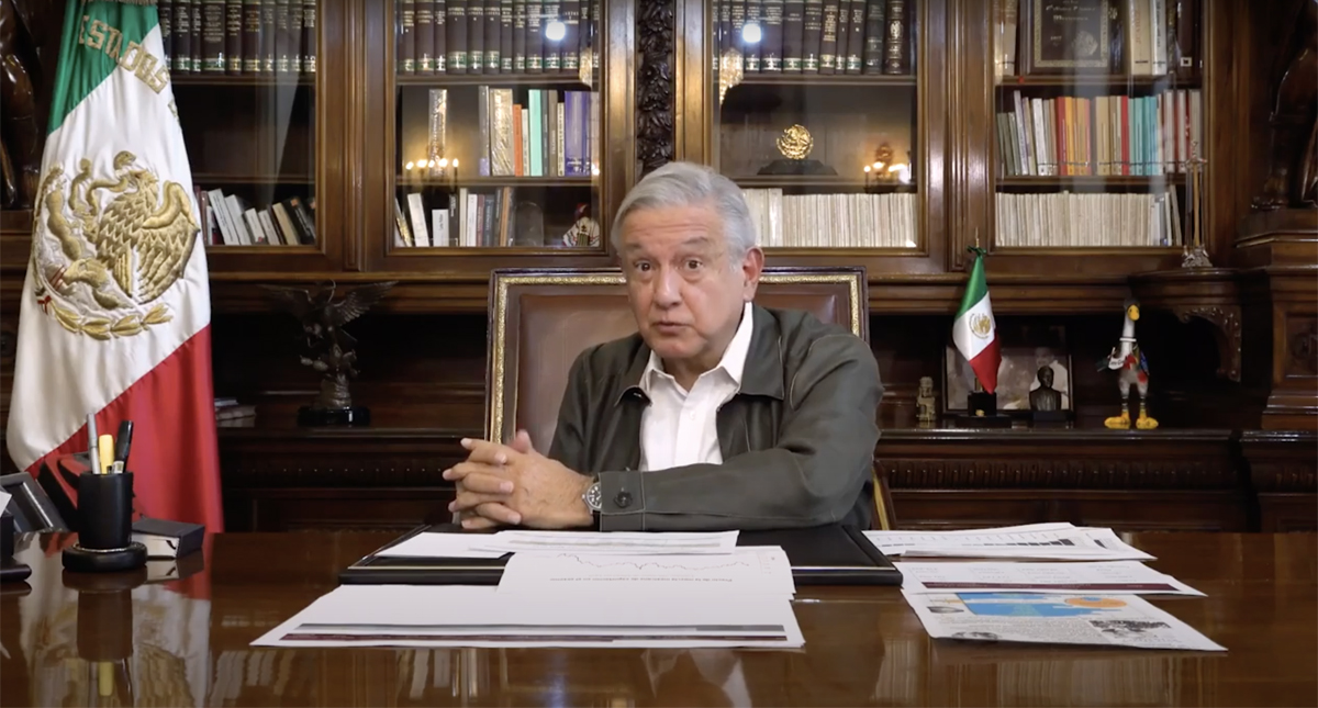 López Obrador informó que el próximo miércoles se dará a conocer el plan de reapertura de la actividad económica en el país