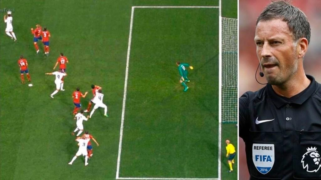 Árbitro admite error a favor del Real Madrid en final de Champions - árbitro real madrid atlético