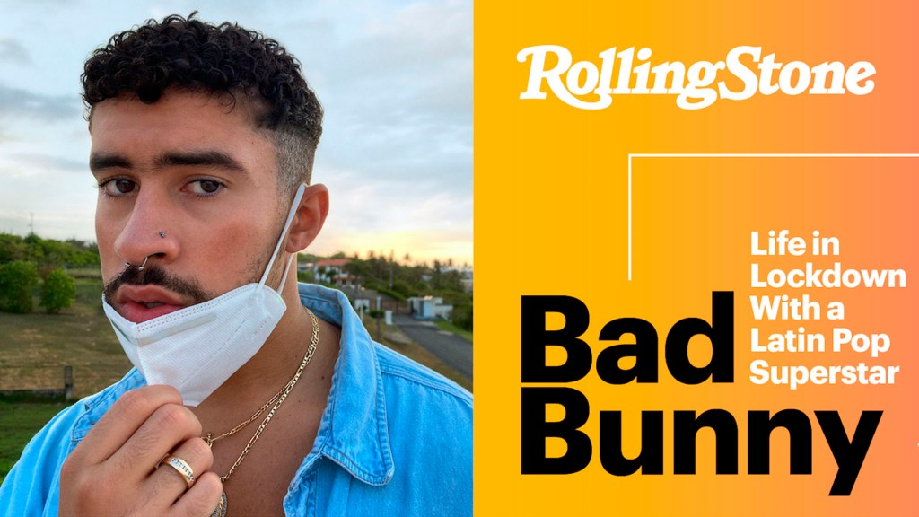 Bad Bunny aparece en la portada de 'Rolling Stone' - bad bunny rolling stone