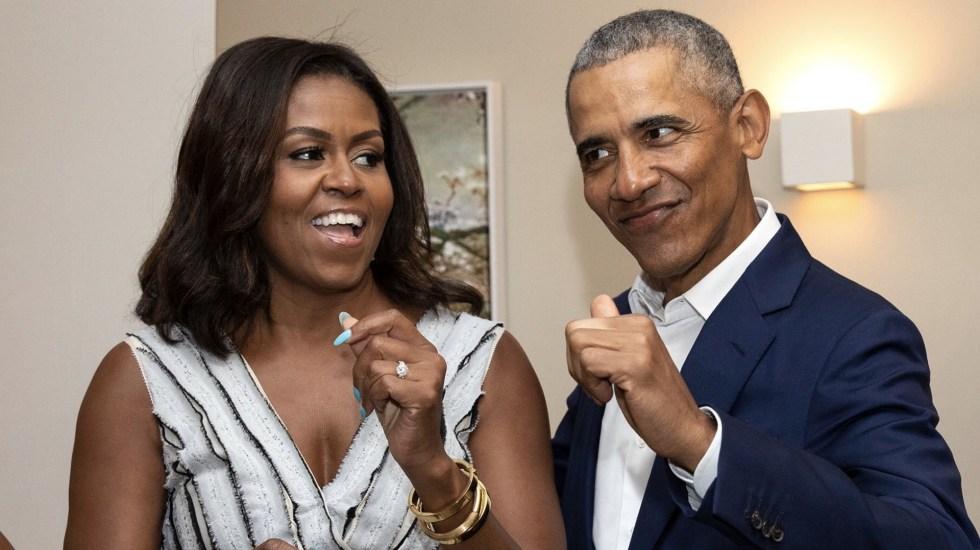 Barack y Michelle Obama darán mensajes a estudiantes en eventos en línea - Barack y Michelle Obama