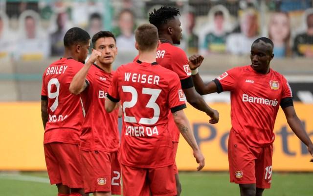 Bayer Leverkusen vence al Monchengladbach y es tercero en la Bundesliga - Bayer Leverkusen vence al Monchengladbach