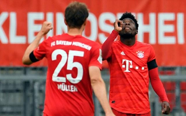 Bayern se venga del Eintracht liderado por Müller - Foto de EFW