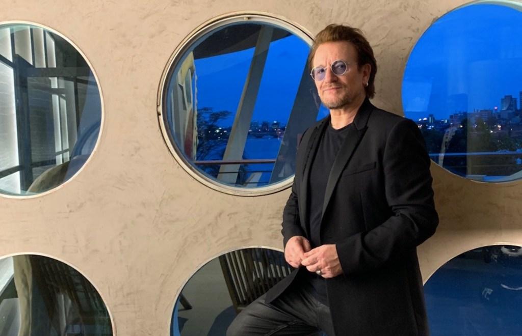 Bono celebra su cumpleaños 60 con canciones que le salvaron la vida - Foto de Twitter U2