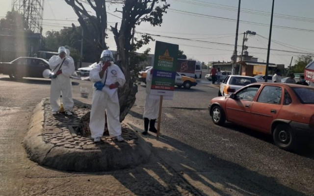 Despliegan en Acapulco brigadas de sanitización y concientización ante COVID-19 - Foto de @HectorAstudillo