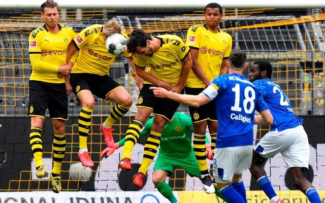 Regresó el futbol a Alemania; Borussia Dortmund golea al Schalke 04 - Foto de EFE