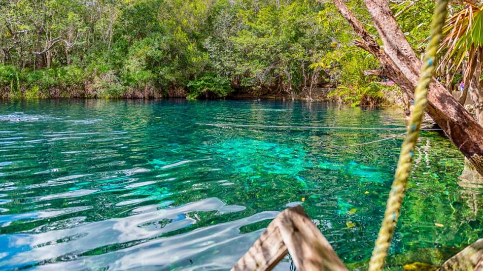Científicos de laUNAMdescubren vestigios de hogueras de 10 mil 500 años en Quintana Roo - Cenote Aktun-Ha, cerca de Tulum, Quintana Roo