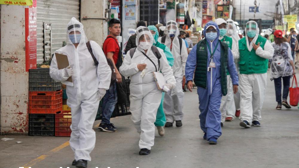 Nos ha ido mejor que a España en crisis económica y sanitaria, asegura AMLO - Foto de Notimex