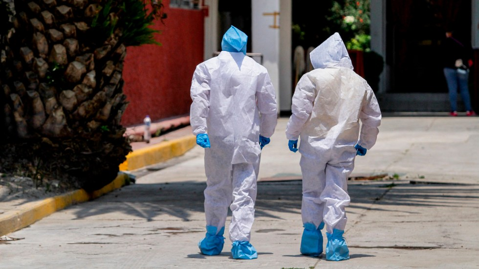Suman mil 111 intubados por COVID-19 en CDMX; ocupación hospitalaria está al 80 por ciento - Ciudad de México coronavirus COVID-19